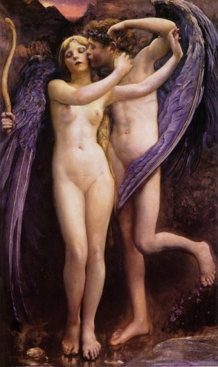Cupid and Psyche - an example of the art collected and displayed by Kevin Alfred Strom