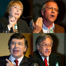 Chilean presidential candidates, 2005