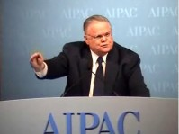 Fundamentalist Pastor John Hagee at AIPAC rally