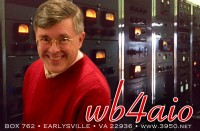 My amateur radio QSL card.