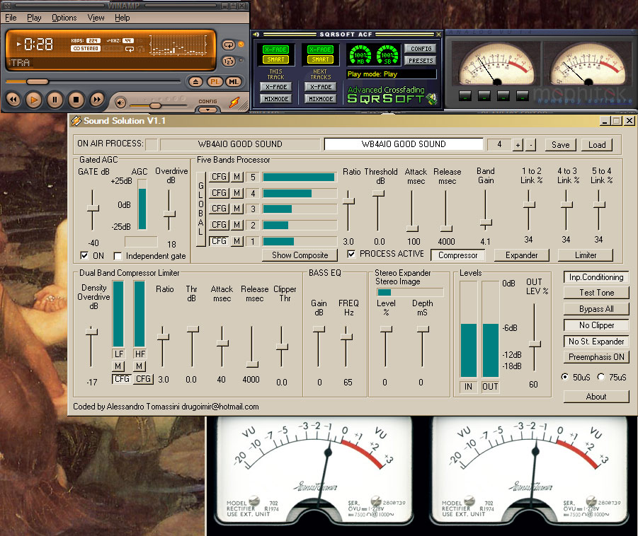 Amazing Audio Add-Ons for Winamp � Kevin Alfred Strom