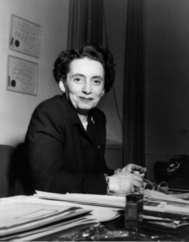 Anna M. Rosenberg: she pushed for racial integration of the U.S. military.