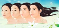 Korean cosmetic surgery ad
