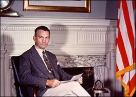 James Forrestal: a patriot who fought subversion, and who died under mysterious circumstances.