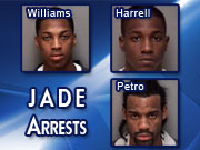 Jade arrests, picture by WVIR television