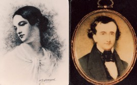 Virginia and Edgar Poe (Poe Museum, Richmond)