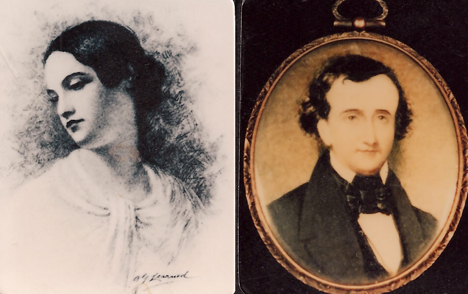 New And Rare Images Of Edgar And Virginia Poe Kevin