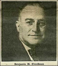 Benjamin Harrison Freedman