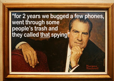 Nixon then and the NSA today
